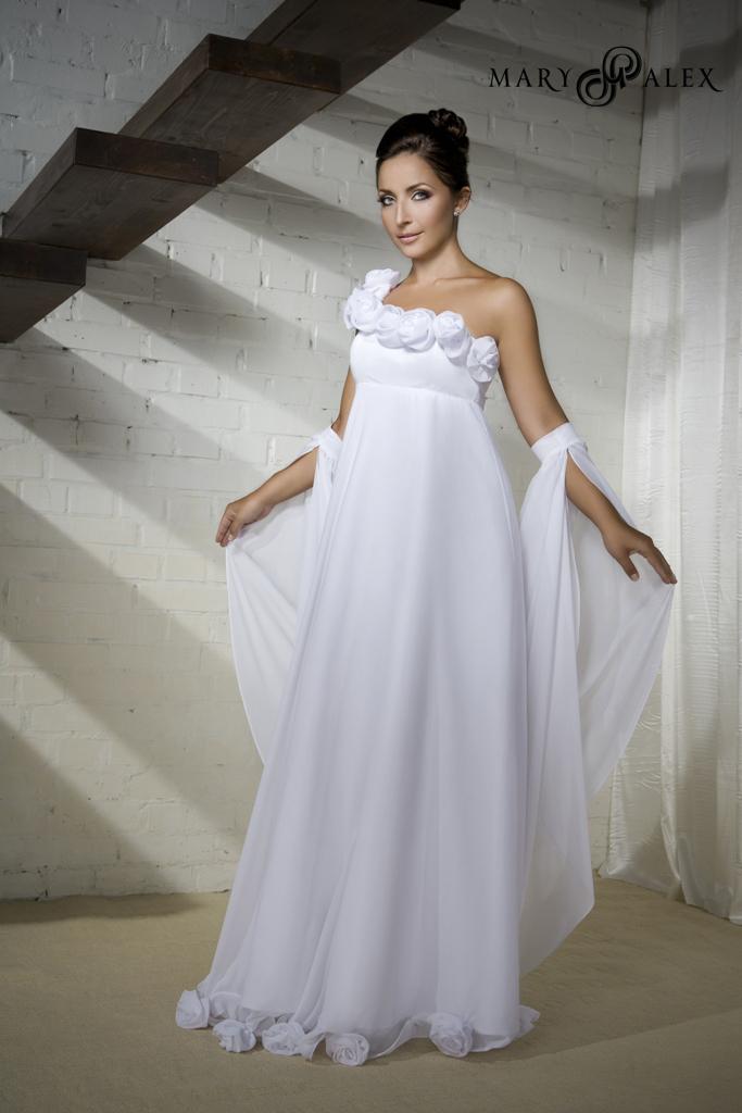 Свадебные платья для беременных Mary Alex 1shop.okis.ru